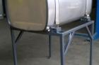 serbatoio gasolio su misura acciaio inox con sostegni