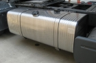 serbatoio gasolio acciaio inox fiorettato installato