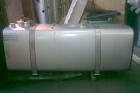 serbatoio olio-gasolio con chiusino per ispezione per impianto industriale da staffare a terra - frontale