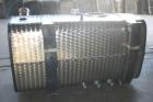 serbatoio olio-gasolio con flangia e tappo a filetto - posteriore