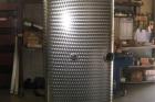 serbatoio olio gasolio lt 900 in acciaio inox fiorettato
