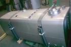 serbatoio olio-gasolio con chiusino per ispezione per impianto industriale da staffare a terra