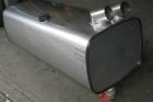 serbatoio in acciaio inox per recupero acque e liquami - laterale