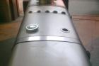 serbatoio olio-gasolio con chiusino per ispezione per impianto industriale da staffare a terra - laterale